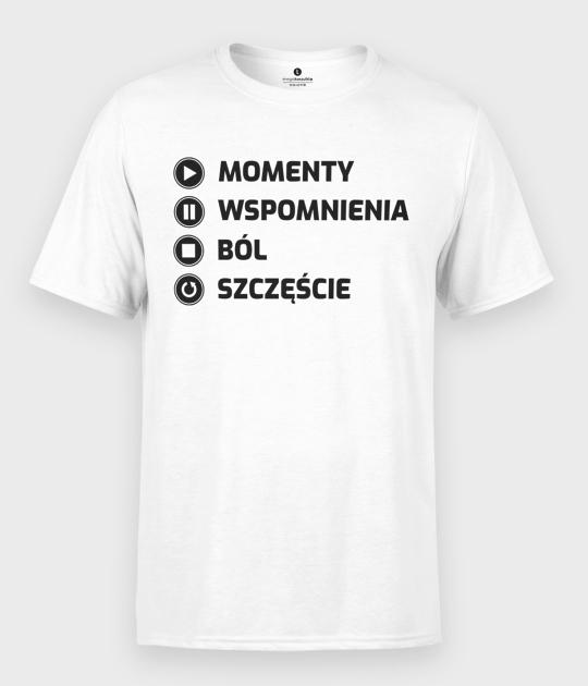Koszulka męska Momenty
