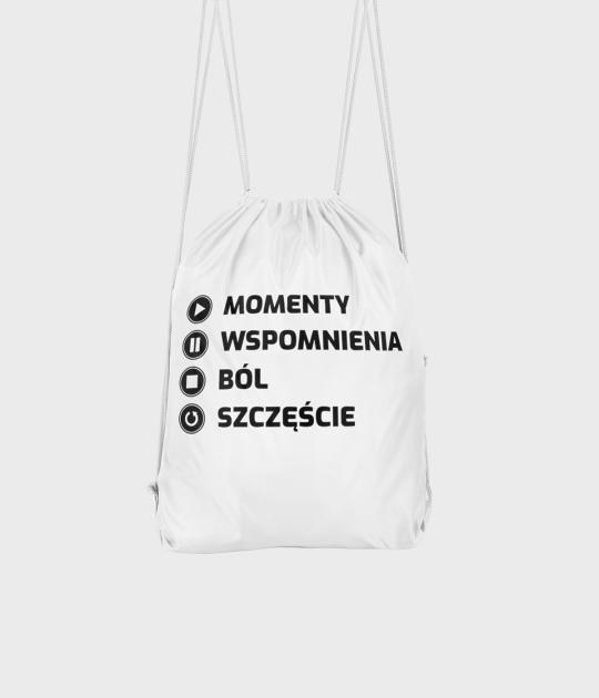 Plecak workowy Momenty