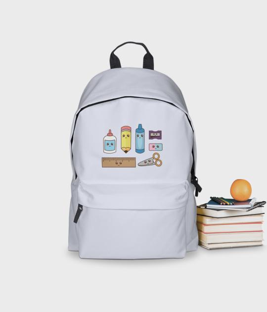 Plecak szkolny Urocze Przybory Szkolne