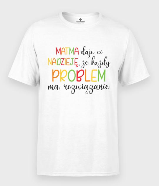 Koszulka męska Matma daje nadzieję