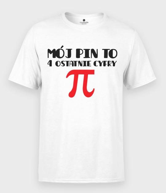 Koszulka męska Mój PIN to