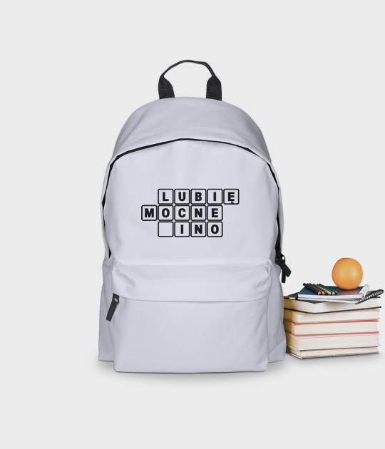 Plecak szkolny Lubię mocne _ino