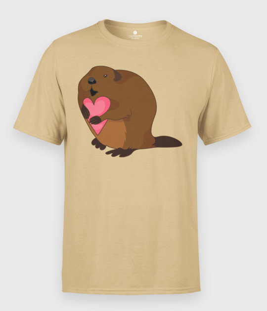 Koszulka męska Bóbr Kocha