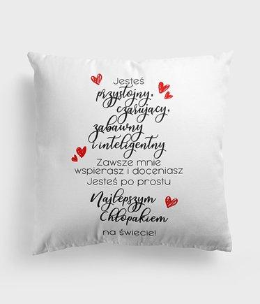 Poduszka Miłosne Wyznanie Dla Chłopaka Walentynki
