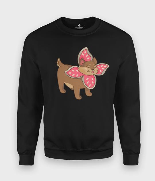 Bluza klasyczna Pies w przebraniu Demogorgona