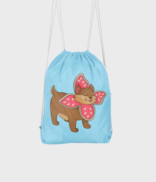 Plecak workowy Pies w przebraniu Demogorgona