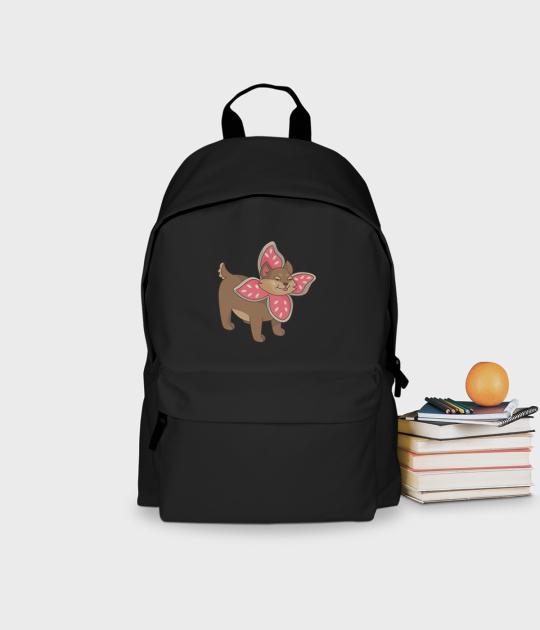 Plecak szkolny Pies w przebraniu Demogorgona