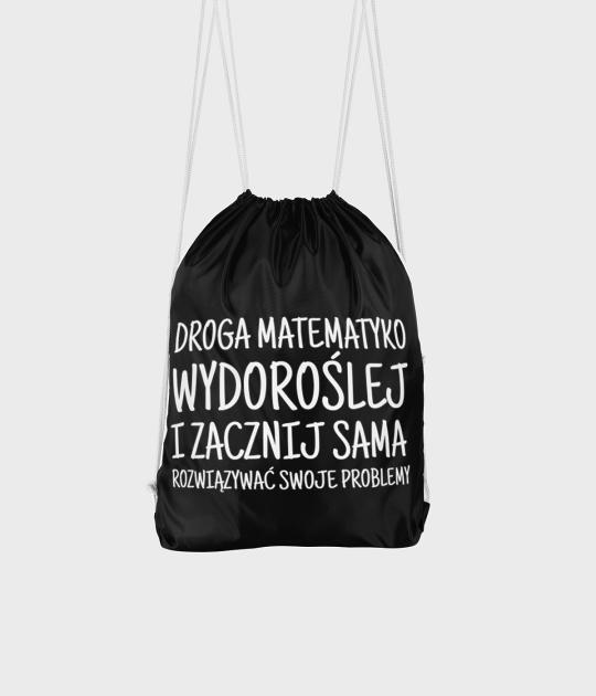 Plecak workowy Droga Matematyko