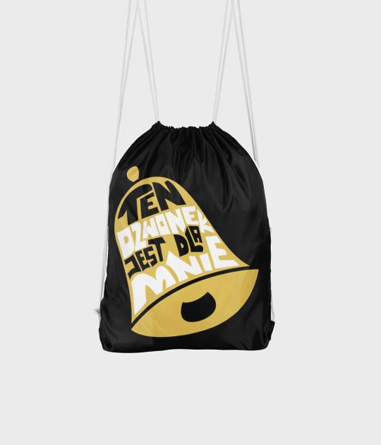 Plecak workowy Ten dzwonek jest dla mnie