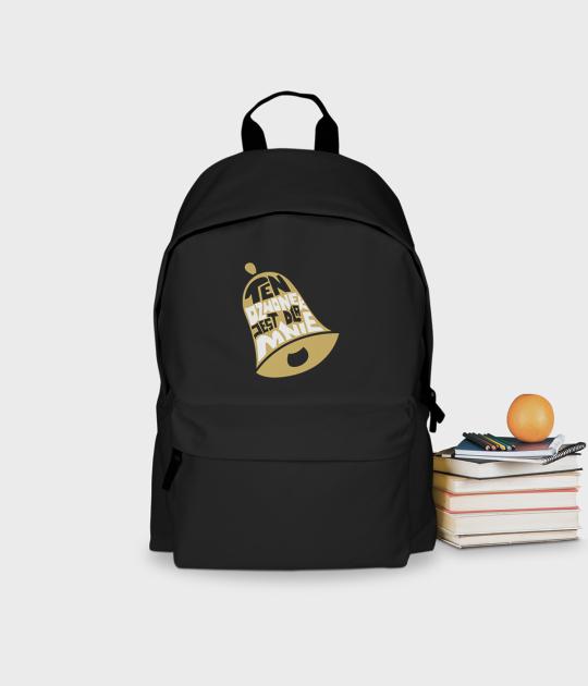 Plecak szkolny Ten dzwonek jest dla mnie