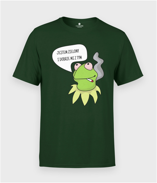 Koszulka męska Zielony Kermit