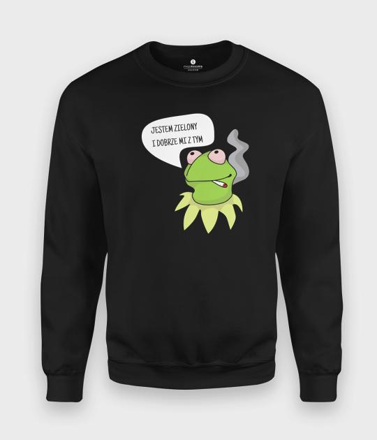 Bluza klasyczna Zielony Kermit