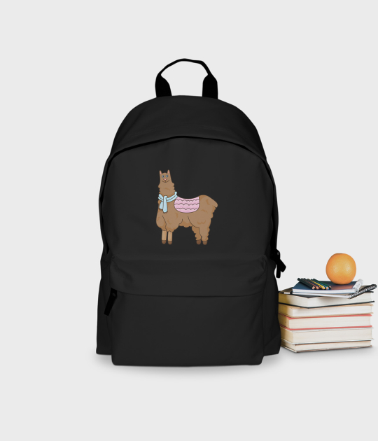 Plecak szkolny Mała Lama