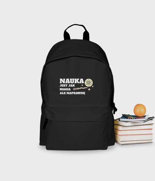 Plecak szkolny Nauka to magia