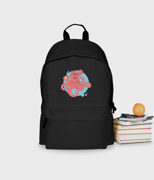 Plecak szkolny Ośmiornica w Szkole