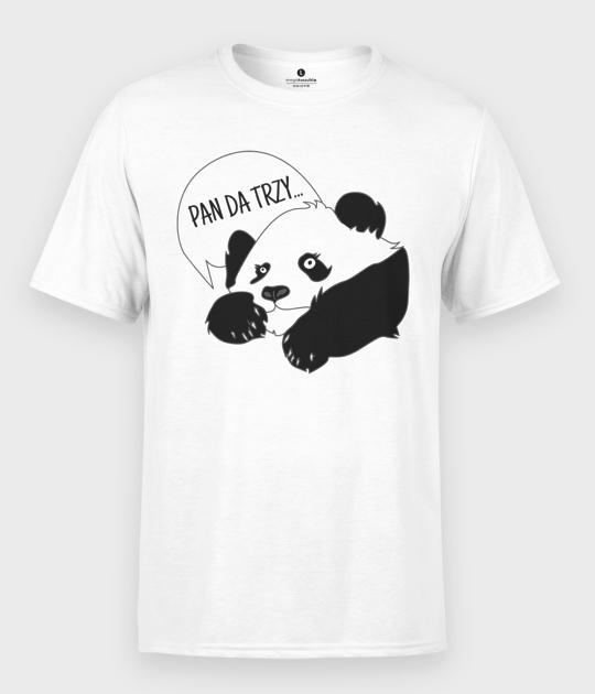 Koszulka męska Pan Da Trzy