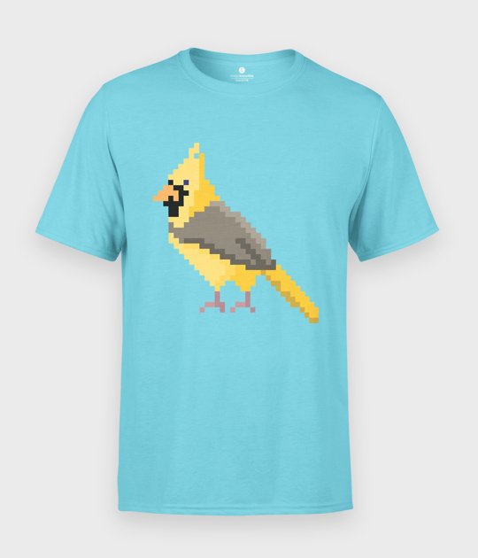 Koszulka męska Pixel Bird