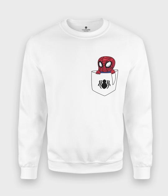 Bluza klasyczna Kieszonkowy Spiderman