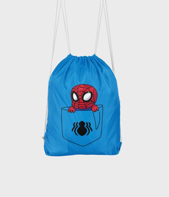 Plecak workowy Kieszonkowy Spiderman