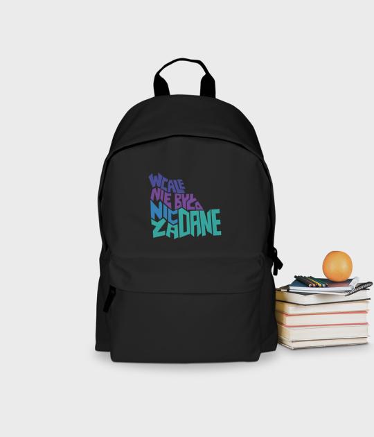 Plecak szkolny Nic nie było zadane