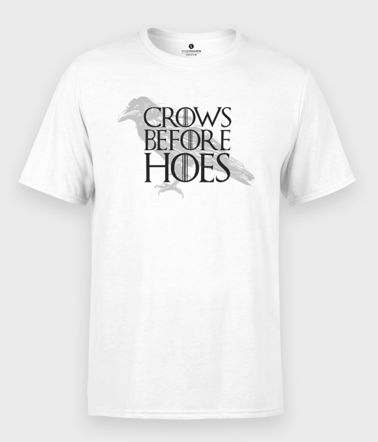 Koszulka męska Crows Before Hoes