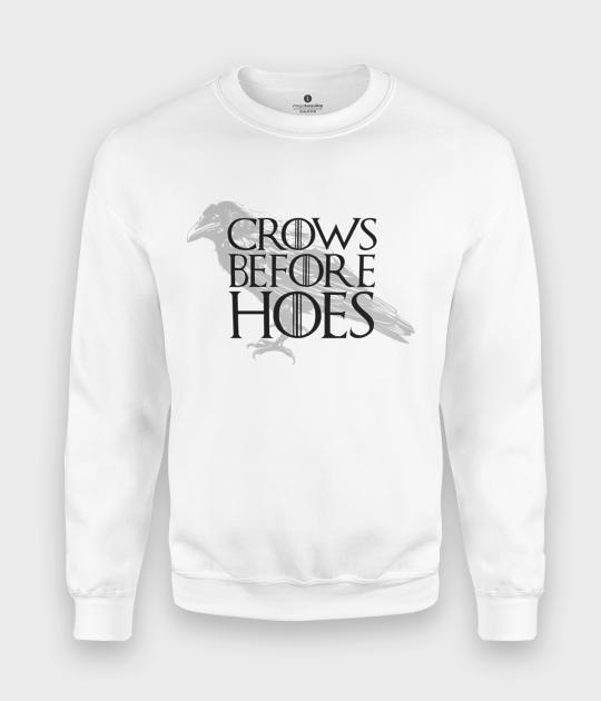 Bluza klasyczna Crows Before Hoes
