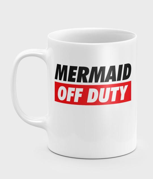 Kubek Mermaid off duty