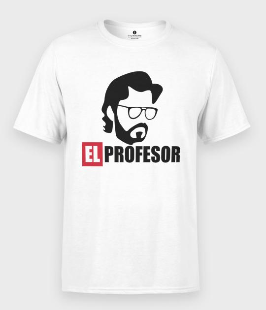 Koszulka męska Dom z Papieru El Profesor
