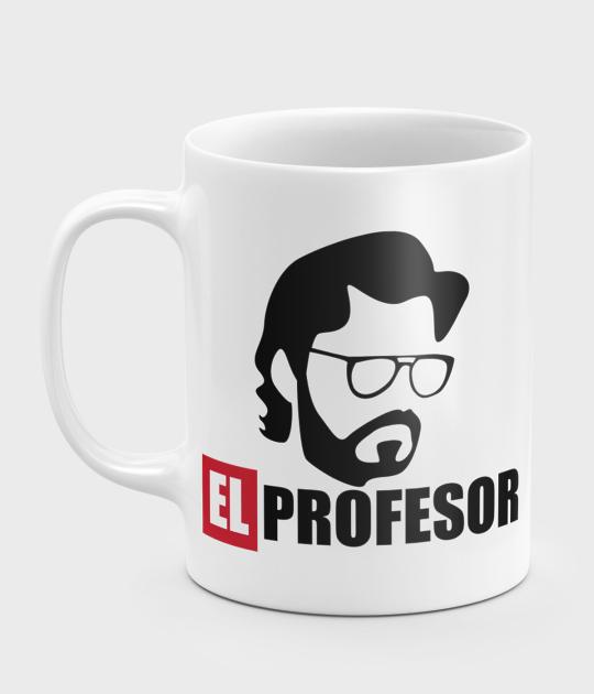 Kubek Dom z Papieru El Profesor