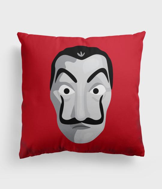 Poduszka full print Maska Dom z Papieru