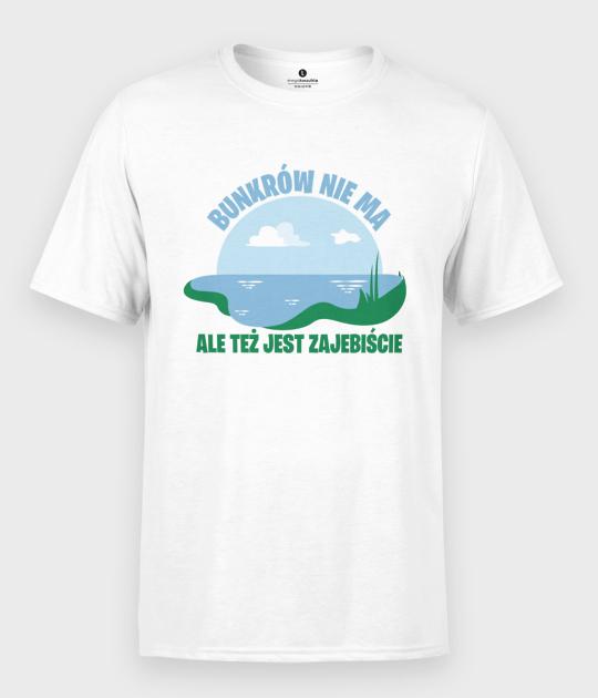 Koszulka męska Bunkrów nie ma, ale...