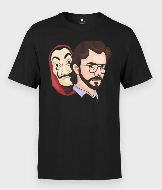Koszulka męska Dom z Papieru El Profesor 2