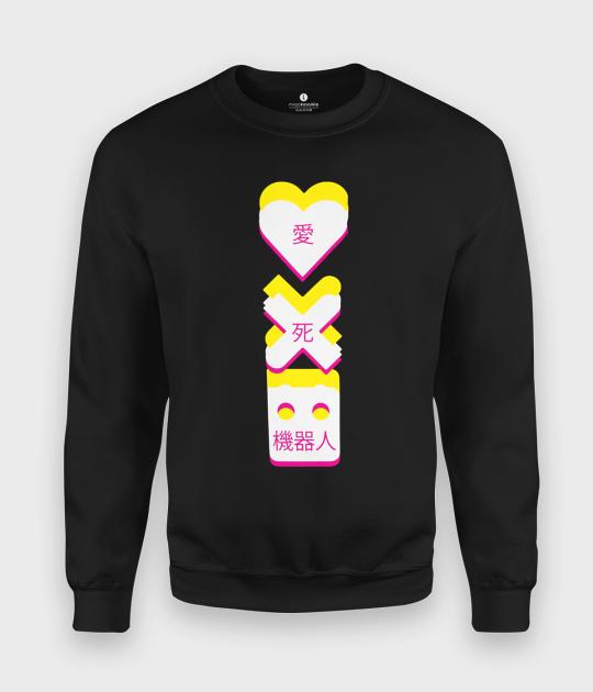 Bluza klasyczna Miłość  i Roboty
