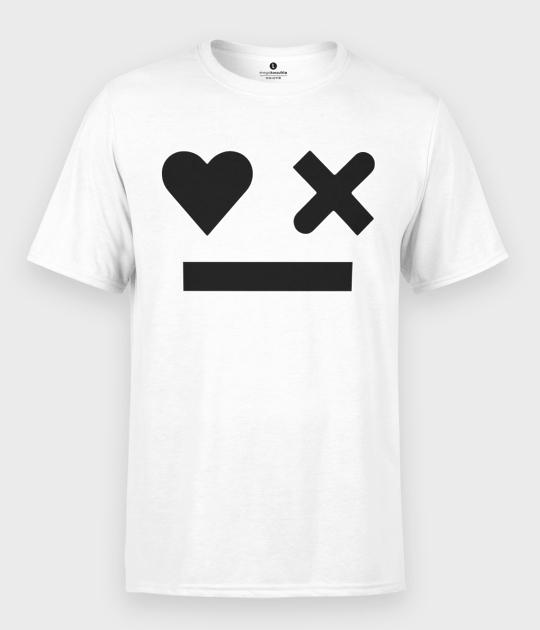 Koszulka męska Robot Emoji