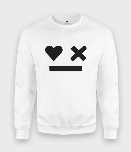 Bluza klasyczna Robot Emoji