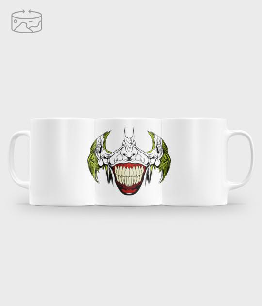 Kubek (panorama) Uśmiech Jokera