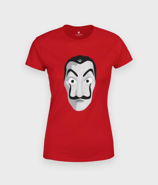Koszulka damska Maska Dom z Papieru