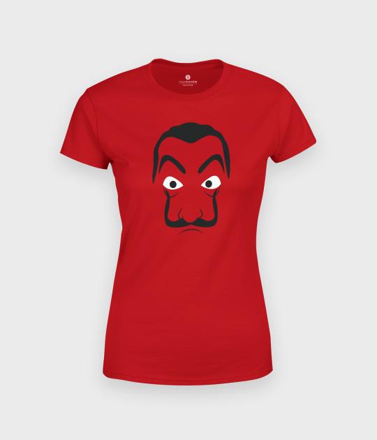 Koszulka damska Dom z Papieru Minimalistyczna Maska