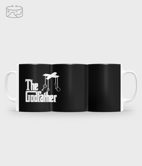 Kubek full print (panorama) The Godfather