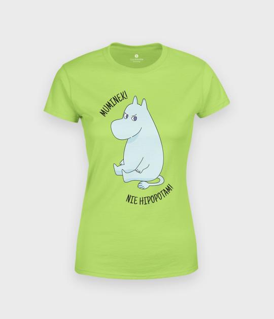 Koszulka damska Muminek, nie hipcio