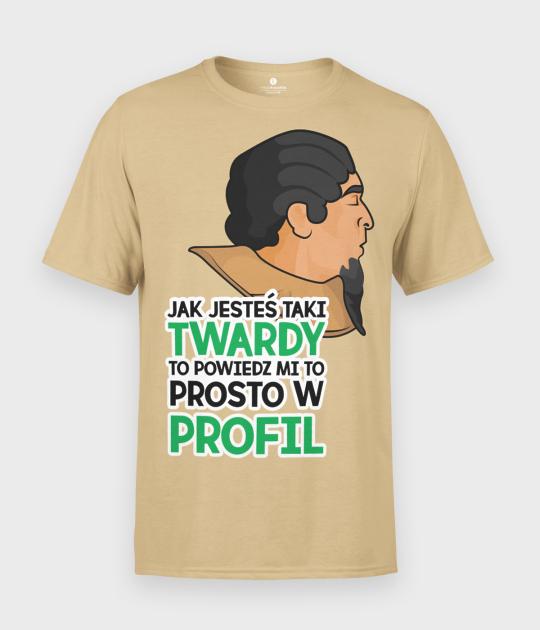 Koszulka męska Asterix i Obelix Misja Kleopatra Profil