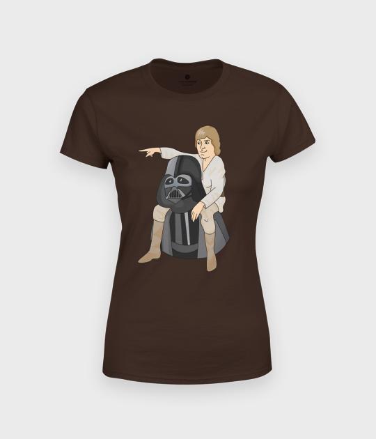 Koszulka damska Darth Father