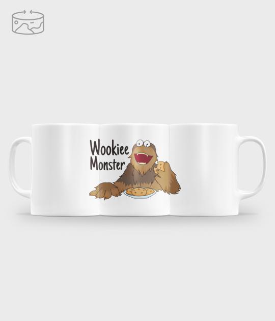 Kubek (panorama) Wookiee Monster