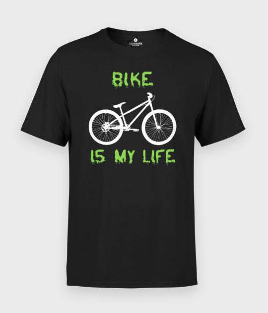 Koszulka męska Bike is my life