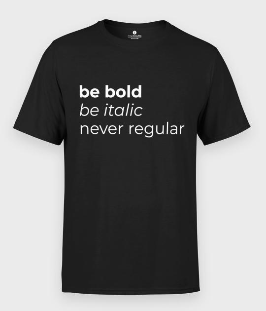 Koszulka męska Never Regular 2