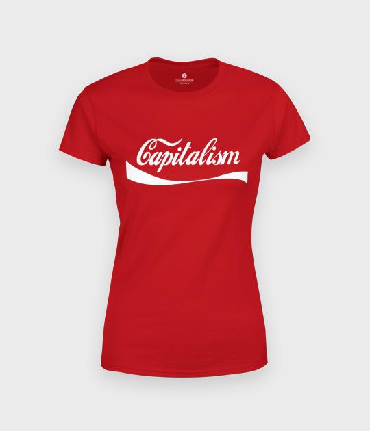 Koszulka damska Capitalism