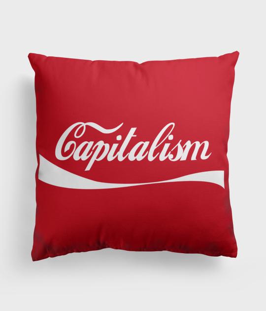 Poduszka full print Capitalism
