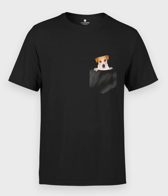 Koszulka męska Kieszonkowy Piesek