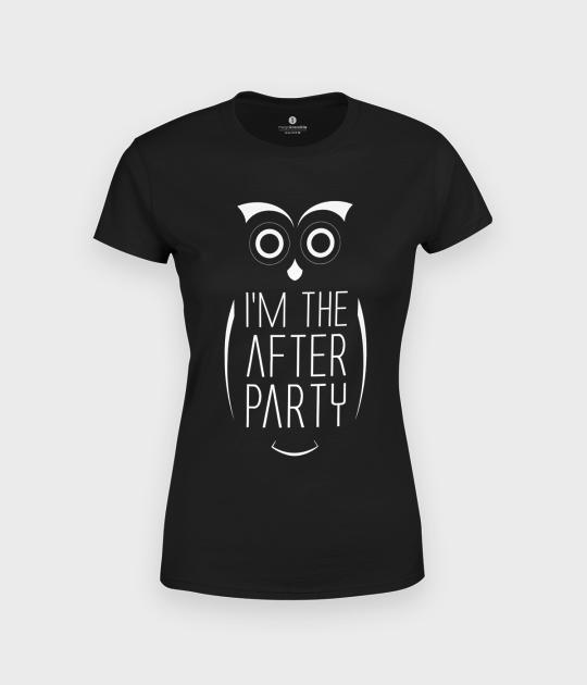 Koszulka damska Sowa After Party