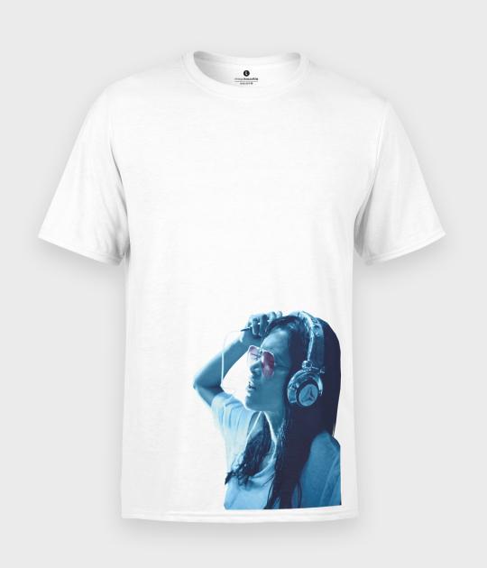 Koszulka męska Music Girl